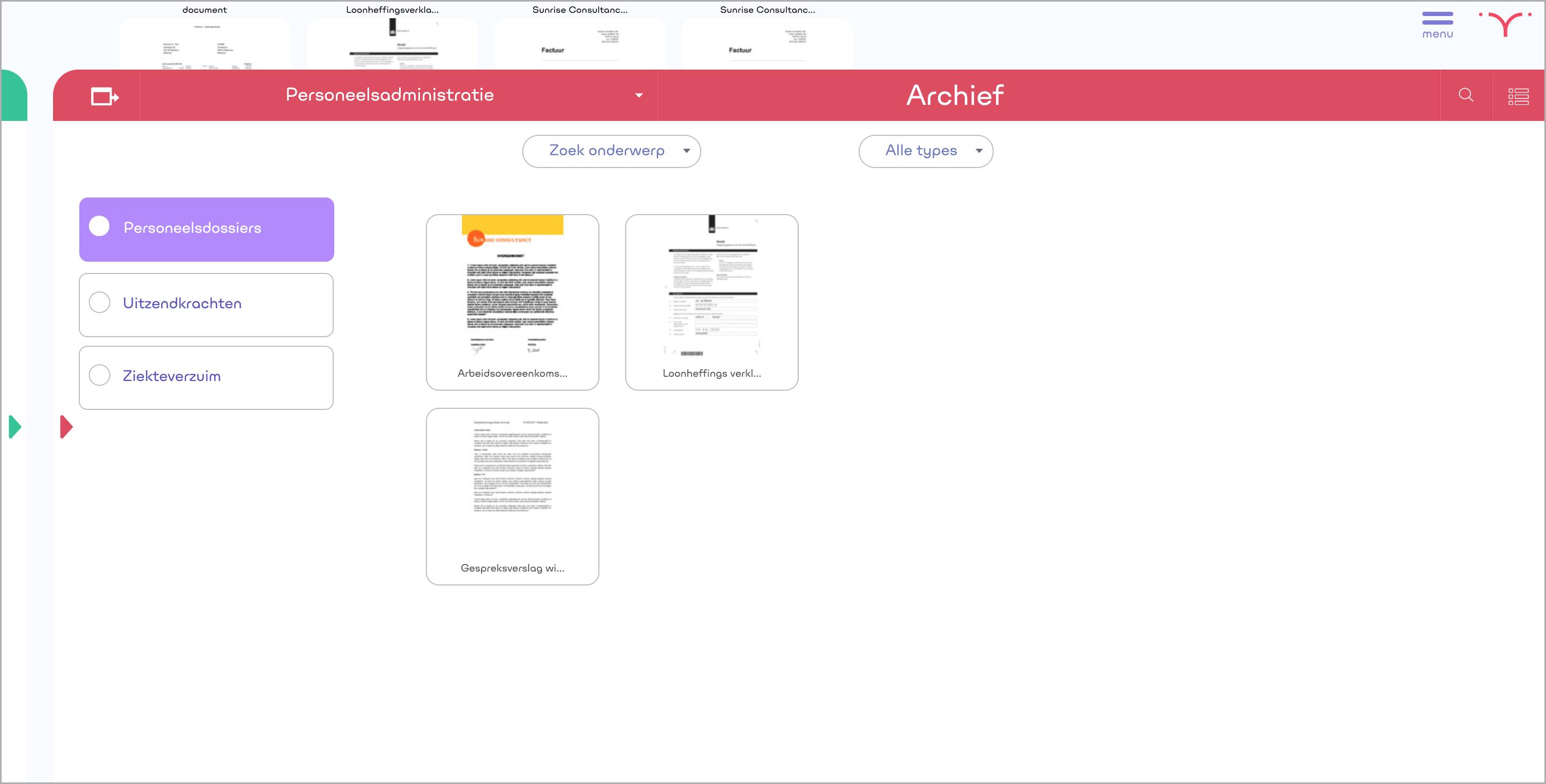 Een screenshot van Klyp!